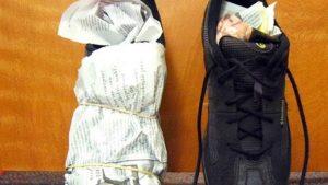 نحوه پاک کردن کفش